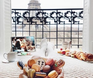paris, food, and christmas image