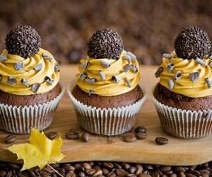 cupcake and coffee image