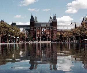 amsterdam, museum, and rijksmuseum image