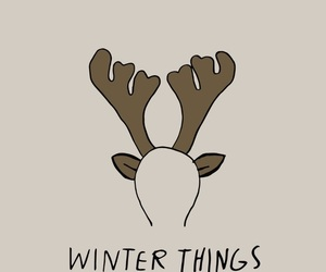 winter, christmas, and winter things image