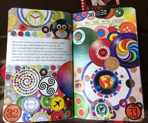 art, circle, and wreck this journal image