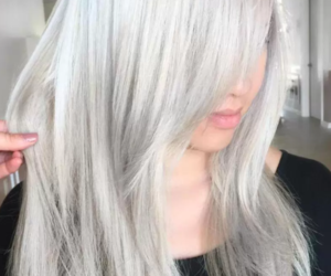 color, white, and hair image