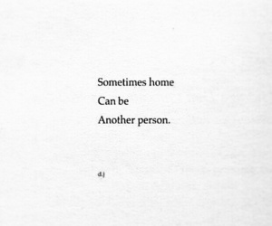 home, quote, and white image