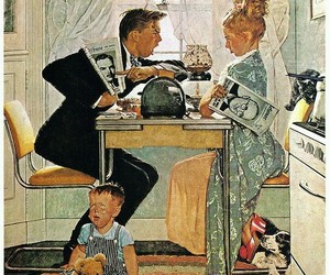 art and Norman Rockwell image