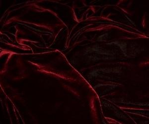 red, velvet, and aesthetic image