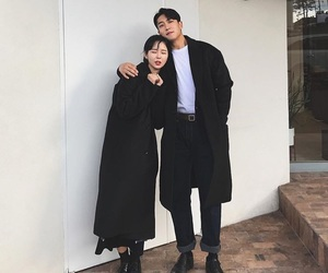 asian, couple, and korea image