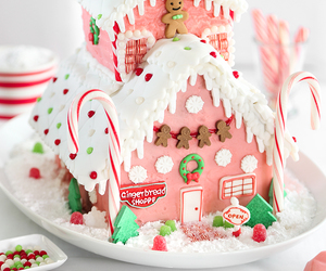 gingerbread and house image