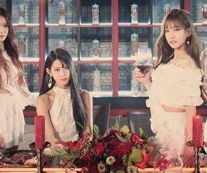 kpop, photoshoot, and girls group image