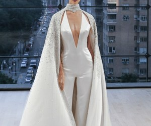 bridal, fashion show, and wedding image