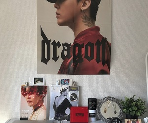 gdragon, room, and room decor image