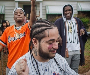 asap rocky and asap yams image