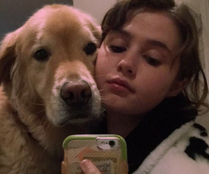 clairo and dog image