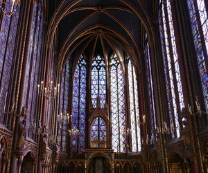 church, notre dame, and paris image