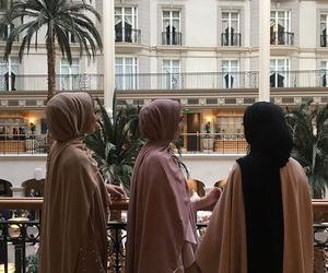 hijab, arab, and girl image