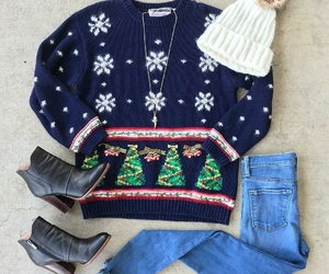 clothes, fashion, and winter image