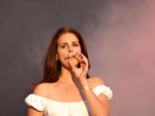lana del rey, lana, and smoke image