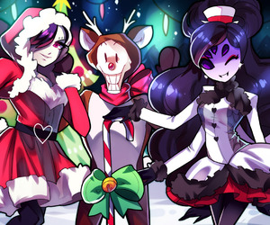 christmas, undertale, and colours image