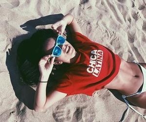 beach, summer, and inna image
