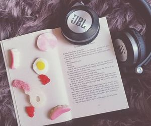 book, candy, and christmas image