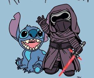 star wars, stitch, and lilo y stitch image