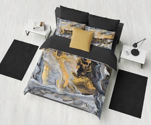bedroom decor, elegant bedroom, and machine washable image