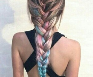 color, colores, and hair image