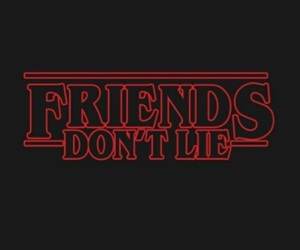 stranger things, friends, and series image