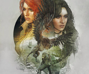 fantasy, art, and the witcher image