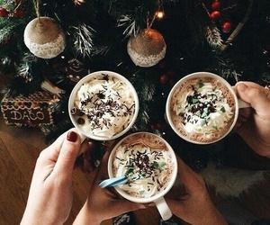 christmas, coffee, and seasons image
