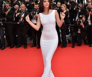 barbara palvin, dress, and model image