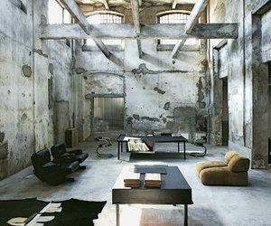 home, loft, and minimalist image