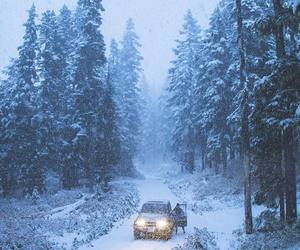 adventure, car, and christmas image