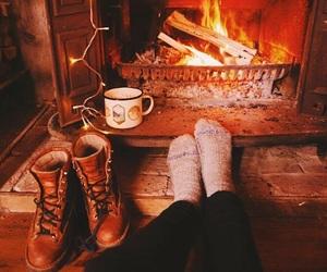boots and christmas image