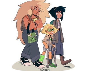 cartoon network, jasper, and peridot image