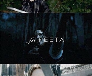 the hunger games, katniss, and panem image