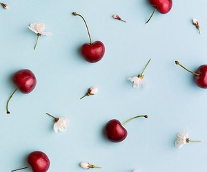 wallpaper and cherry image