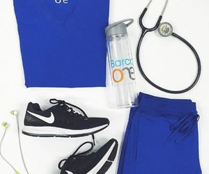 blue, bottle, and scrubs image