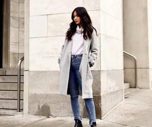 casual, coat, and fashion image
