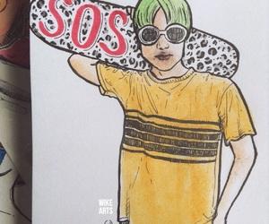 90s, yellow, and thai drama image