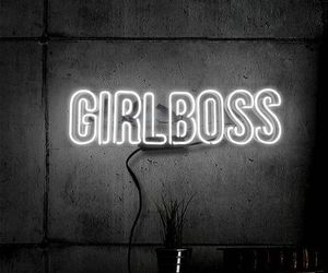 light, quotes, and girl boss image