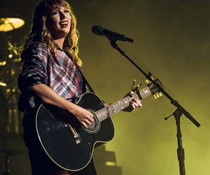 Reputation, Taylor Swift, and guitar image