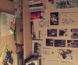 desk, diy, and my image