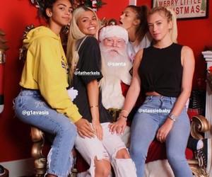 christmas, girls, and sahar luna image