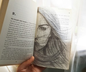 book, draw, and art image
