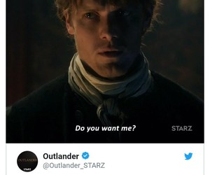 funny, scene, and outlander image