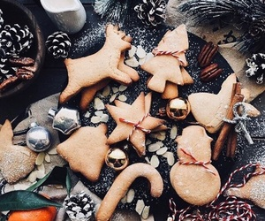 christmas, gingerbread, and sweet image