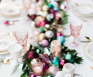 christmas, holiday, and centerpiece image