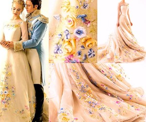 cinderella, dress, and disney image