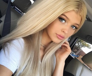 girl, loren gray, and makeup image