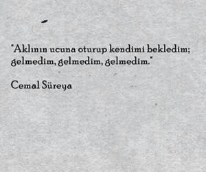 türkçe sözler and cemal süreya image